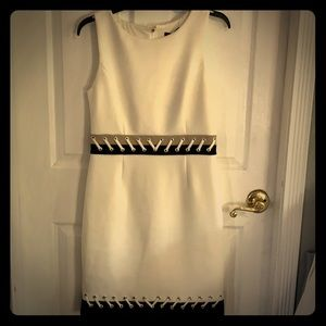 DNKY Cream colored dress